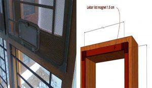 Tips cara mengukur kawat nyamuk jendela